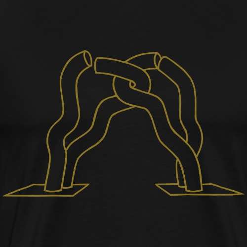Berlin sculpture - Men's Premium T-Shirt