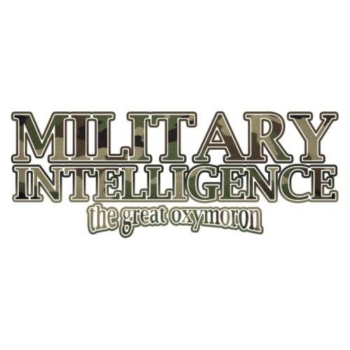 Military Intelligence: the great oxymoron - Men's Premium T-Shirt