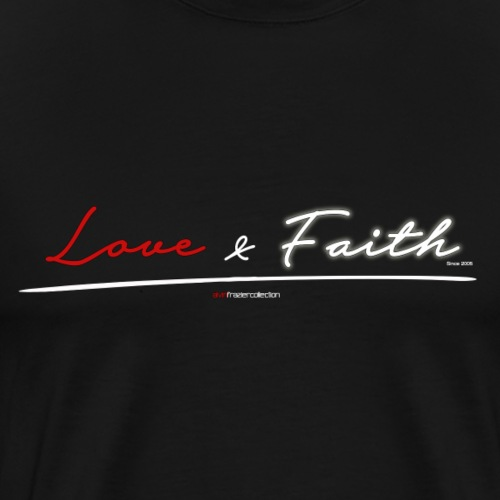 Love & Faith - Men's Premium T-Shirt
