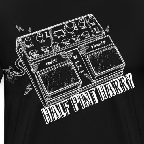 Half Pint Harry Sonic Wizardry - White - Men's Premium T-Shirt