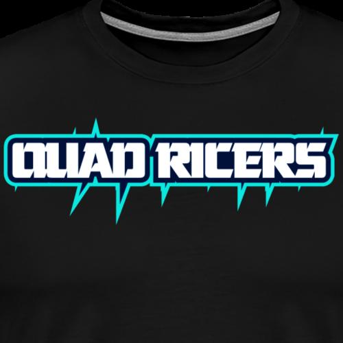 Quad Ricers Blue Spike T-Shirt - Men's Premium T-Shirt