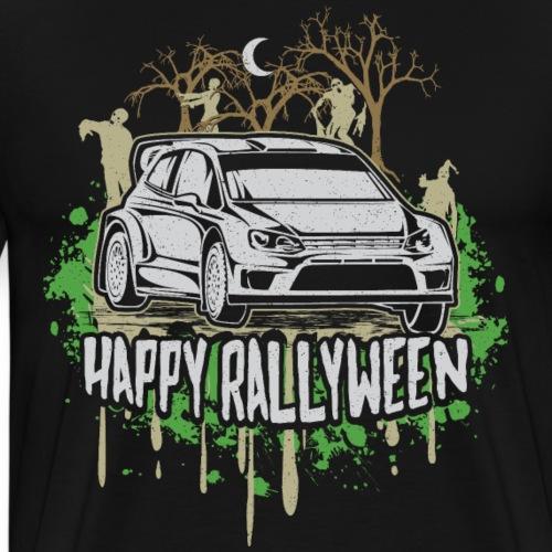Rally Car Halloween - Men's Premium T-Shirt