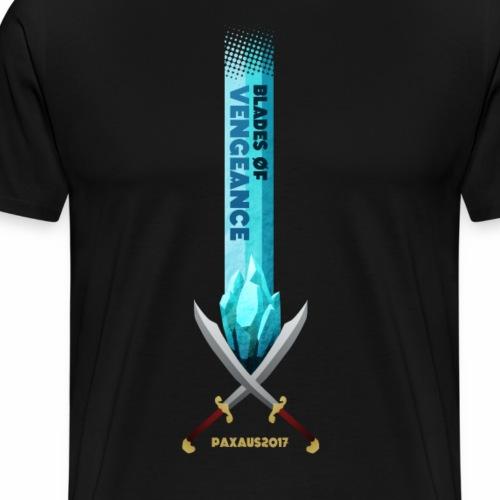 Blades of Vengeance PAX Australia Shirt 2017 - Men's Premium T-Shirt