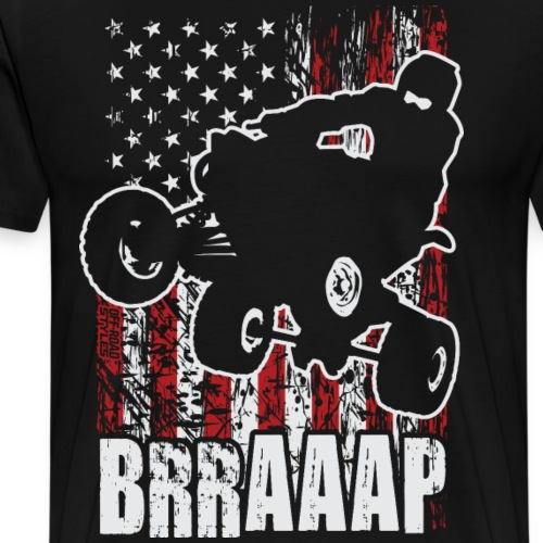 ATV Quad USA Off-Road - Men's Premium T-Shirt