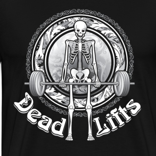 Exercise DeadLifts Strong - Men's Premium T-Shirt