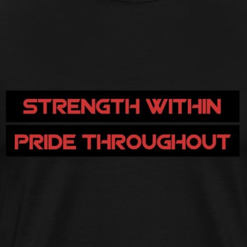 strength within - Men's Premium T-Shirt