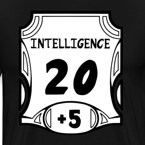 Alternate All of the Intelligence - Men's Premium T-Shirt