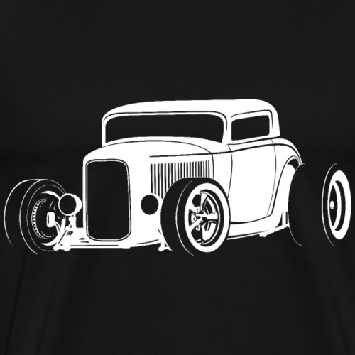Classic American Hot Rod - Men's Premium T-Shirt