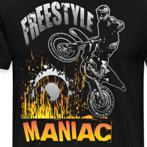 Motocross Freestyle Mania - Men's Premium T-Shirt