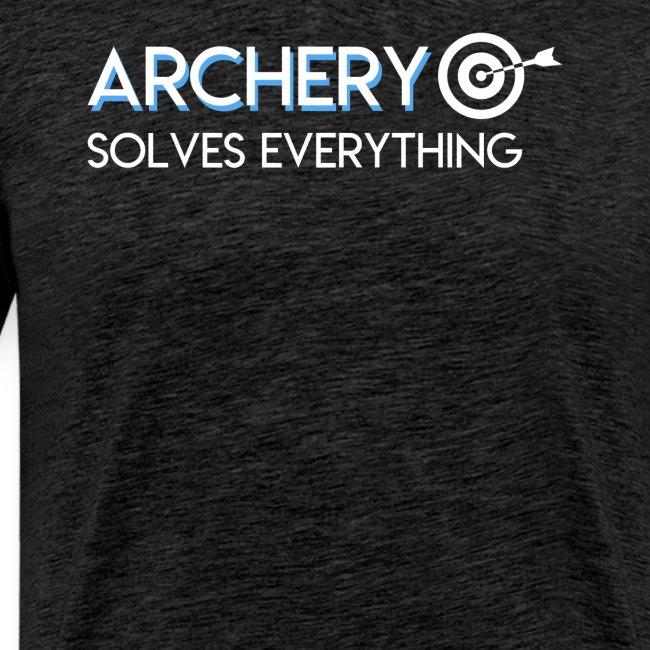 Archery Solves Everything Archery Lover