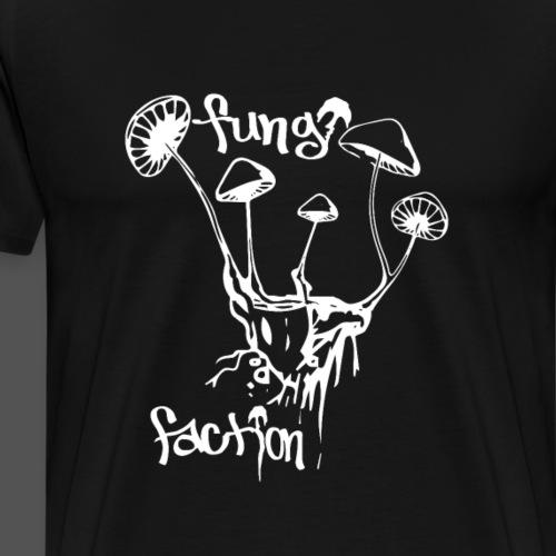 Floating Shrooms - Fungi Faction - Men's Premium T-Shirt