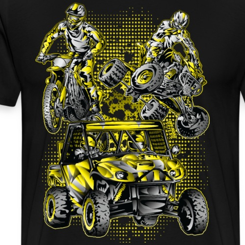 Extreme Sports Lifestyle - Men's Premium T-Shirt