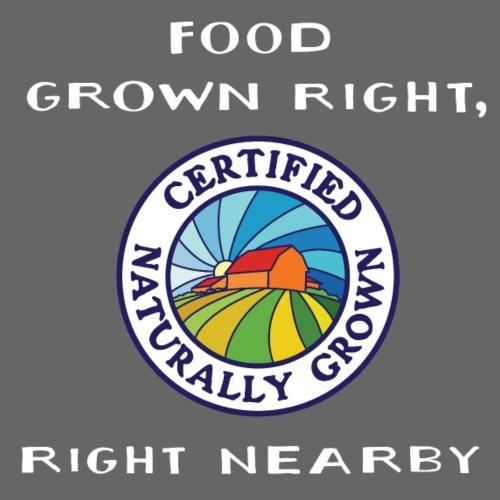 Food Grown Right - Men's Premium T-Shirt