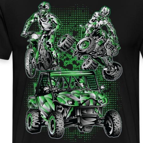 Extreme Moto Lifestyle - Men's Premium T-Shirt