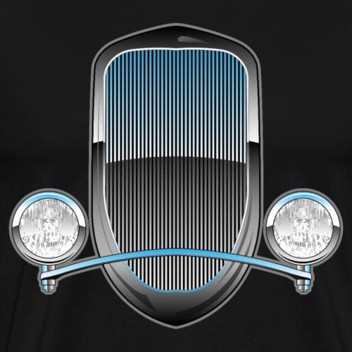 1930s Style Hot Rod Car Grill - Men's Premium T-Shirt