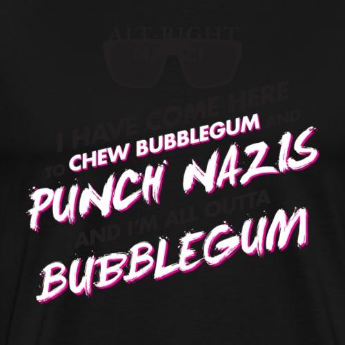 Punch Nazis Resist Trump - Men's Premium T-Shirt