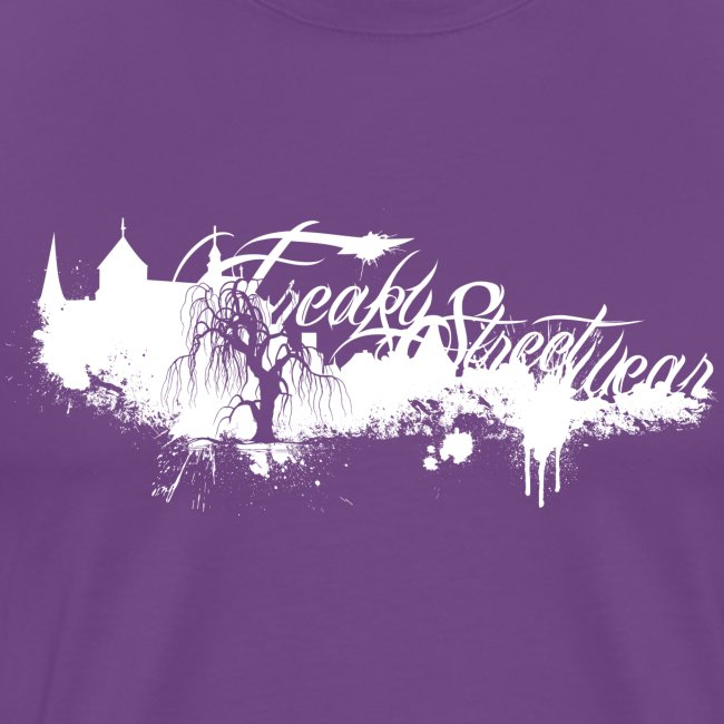 Freaky Streetwear MG Label white