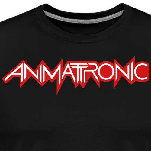 Animattronic Waveform Logo - Men's Premium T-Shirt