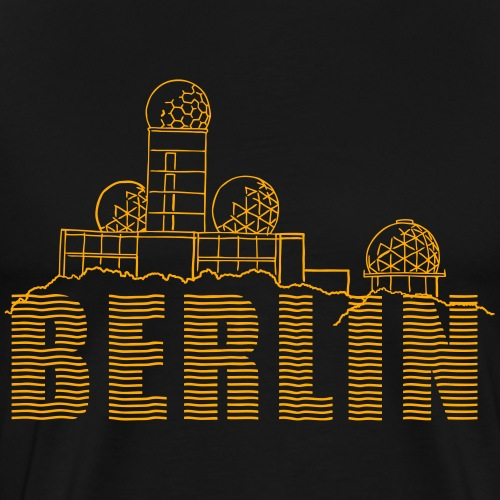 Listening station Berlin - Men's Premium T-Shirt
