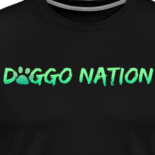DoggoNation Logo - Men's Premium T-Shirt