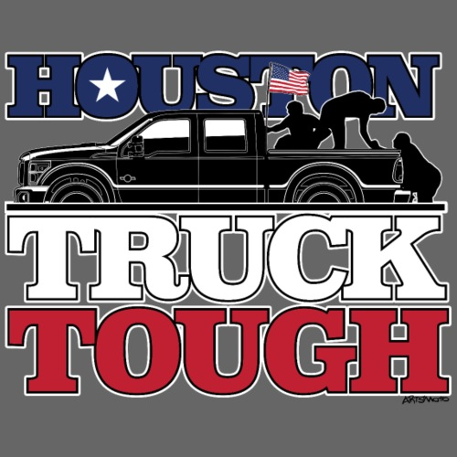 Houston, Truck Tough! - Men's Premium T-Shirt