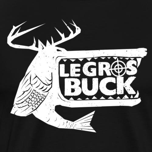 Logo BLANC - T-shirt premium pour hommes