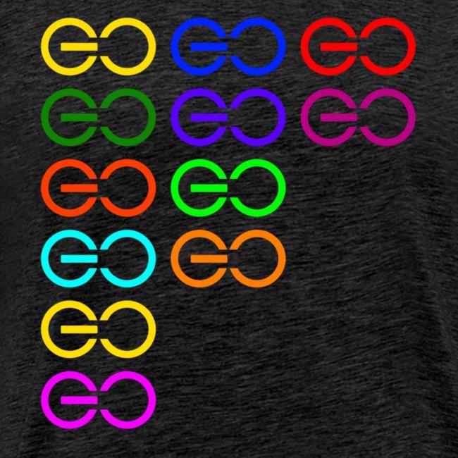 GOGOGO multi color