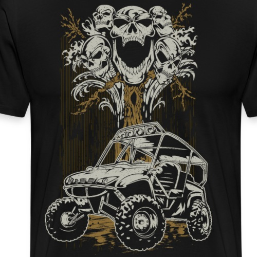 UTV Skull Tree - Men's Premium T-Shirt