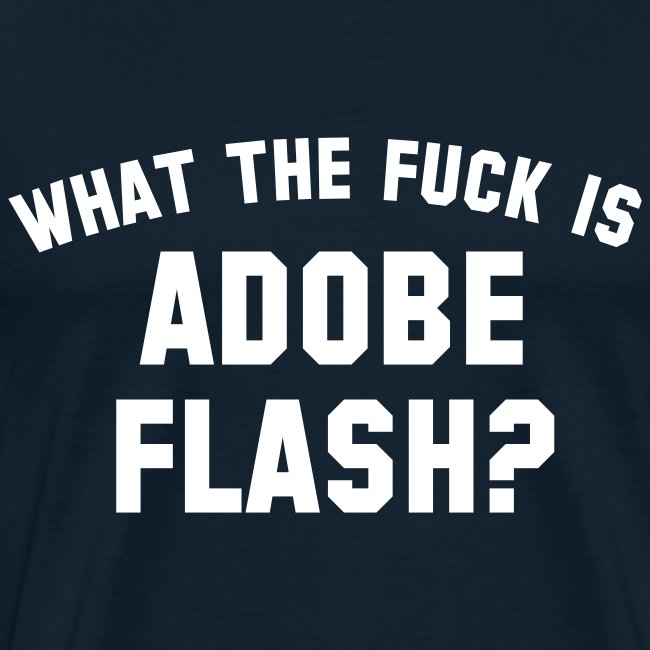 what the fuck is adobe flash