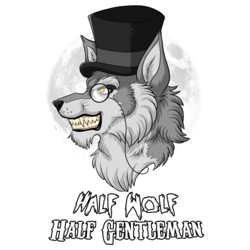 Half-Wolf Half-Gentleman - Men's Premium T-Shirt