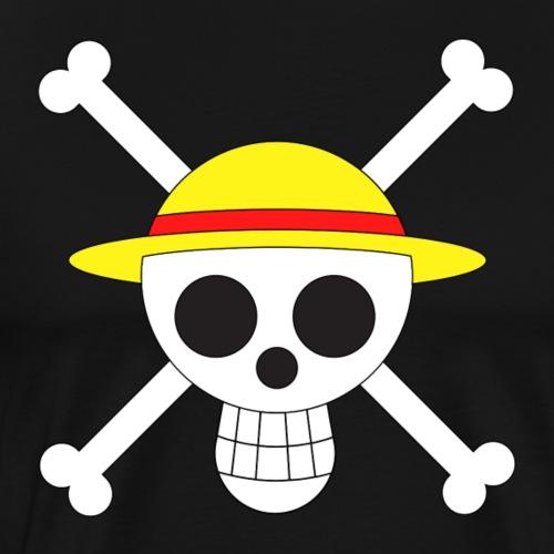 Straw hat crew jolly roger - Men's Premium T-Shirt