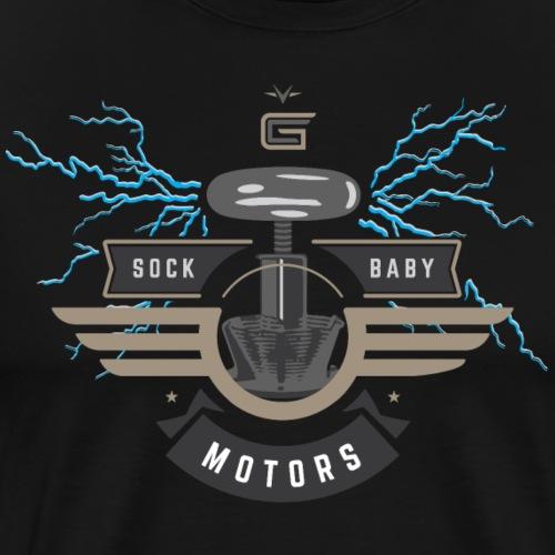 Car Guru - Sock Baby Motors - Men's Premium T-Shirt
