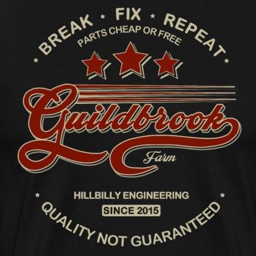Hillbilly Engineering - Men's Premium T-Shirt