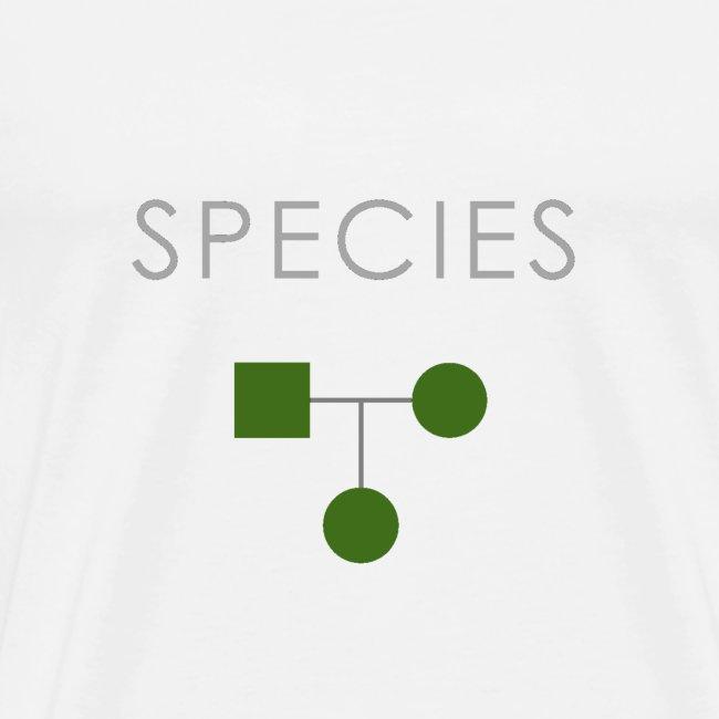 Minimalist design: species (dark background)