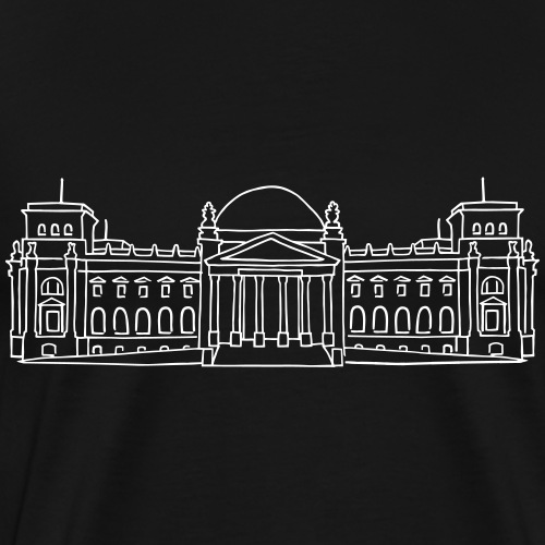 Reichstag building Berlin - Men's Premium T-Shirt