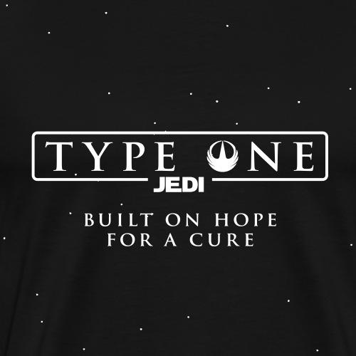 Star Wars Type One Jedi Diabetic Support - Men's Premium T-Shirt