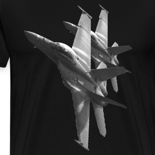 F/A-18 Hornet - Men's Premium T-Shirt