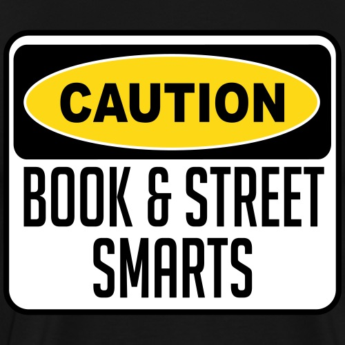 BOOKSTREETSMART - Men's Premium T-Shirt