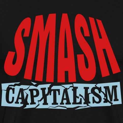 Smash Capitalism - Men's Premium T-Shirt