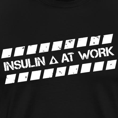 Insulin At Work - Men's Premium T-Shirt
