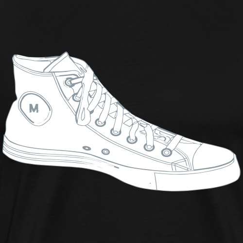 Custom Chucks | Retro Sneakers - Men's Premium T-Shirt