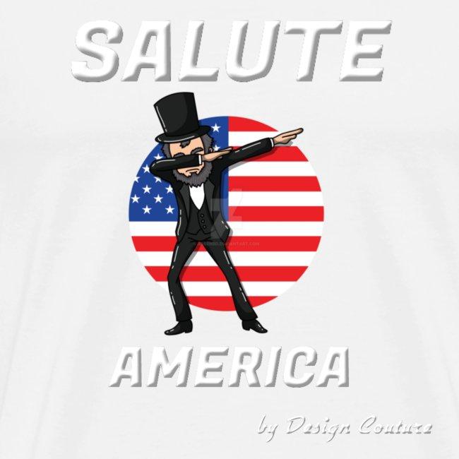 SALUTE AMERICA WHITE