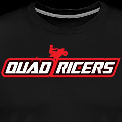 Quad Ricers Red Wheelie T-Shirt - Men's Premium T-Shirt
