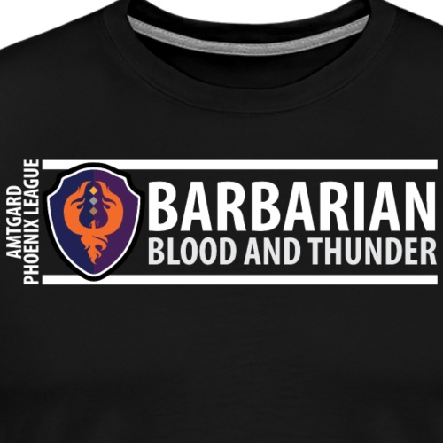 Shield Series: Barbarian - Men's Premium T-Shirt