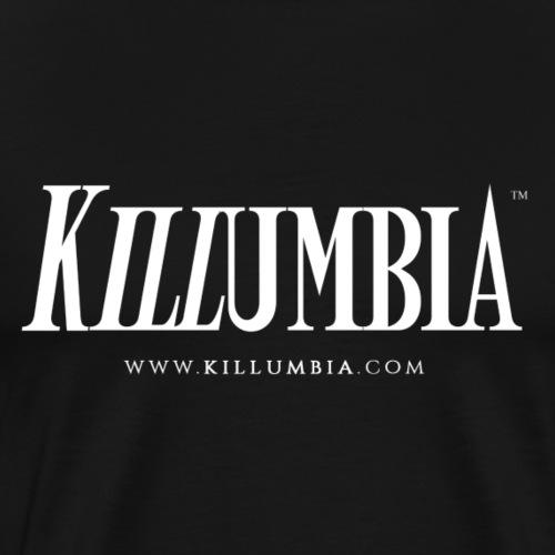 Killumbia Logo - White - Men's Premium T-Shirt