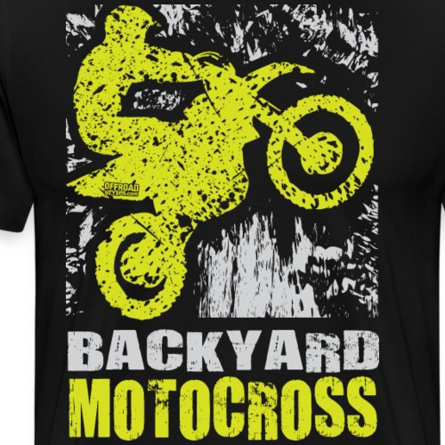 Backyard Motocross Kawasaki - Men's Premium T-Shirt