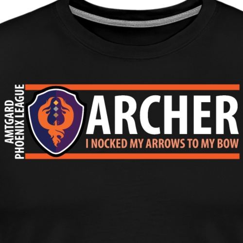 Shield Series: Archer - Men's Premium T-Shirt