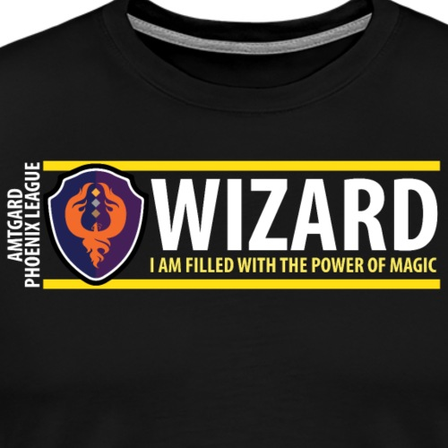 Shield Series: Wizard - Men's Premium T-Shirt
