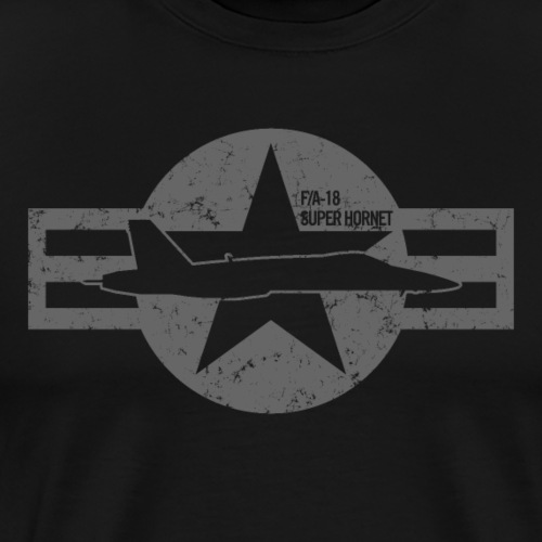 FA-18 Super Hornet - Men's Premium T-Shirt