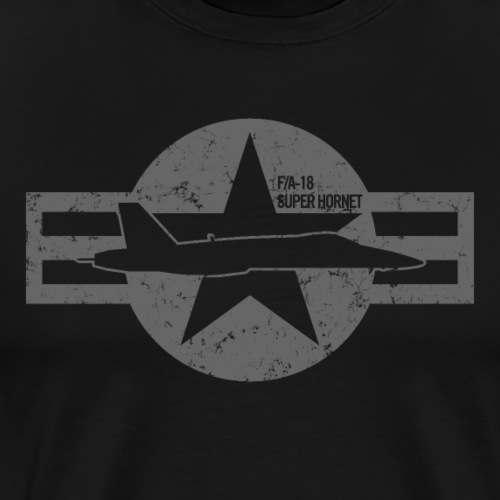 FA-18 Super Hornet - Men's Premium T-Shirt